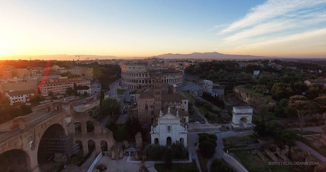 Phantom 3 Review - Rome After Example