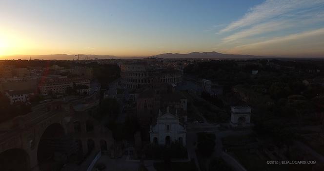 Phantom 3 Review - Rome Before Example
