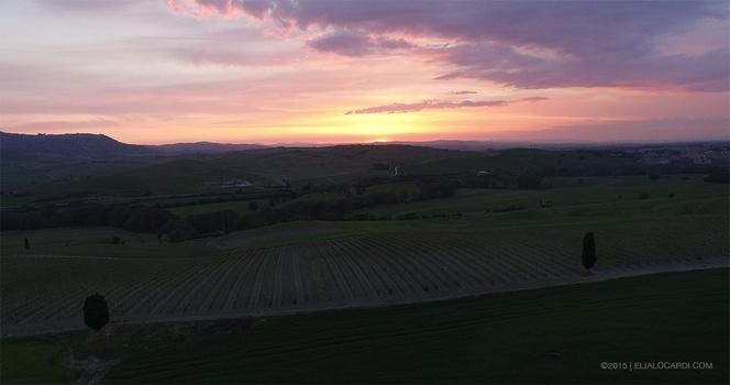 DJI Phantom 3 Review - Tuscany Before Example
