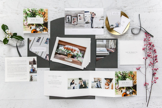Vendor Marketing Kit and Welcome Packet for Wedding and Portrait Photographers