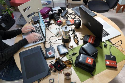 location independent work desk