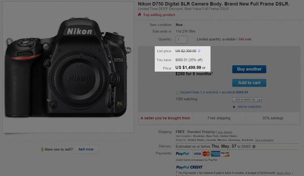 ebay gray market retail