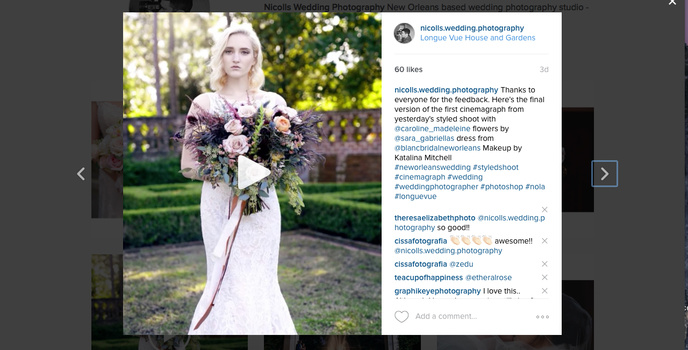 Nicoll's Wedding Photography Cinemagraph