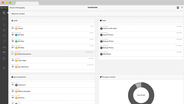 fotoclient-dashboard-view