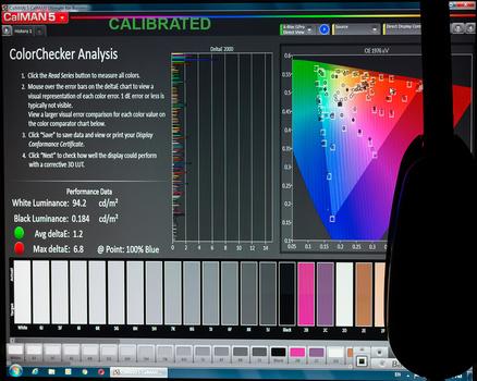 Samsung TN Monitor Post-Calibration Results