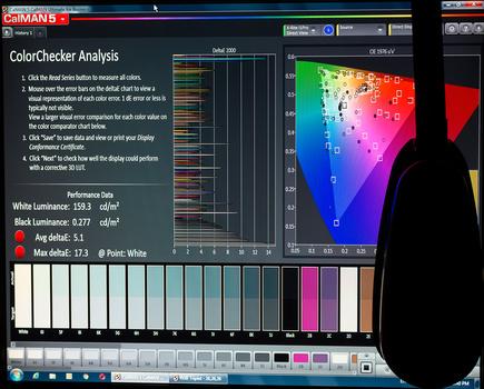 Samsung TN Monitor Pre-Calibration Results