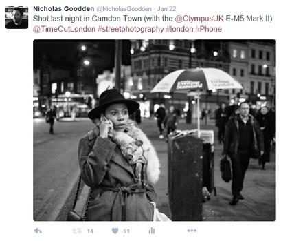 how photographers tweet