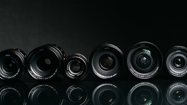 Photo of Leica T lens family
