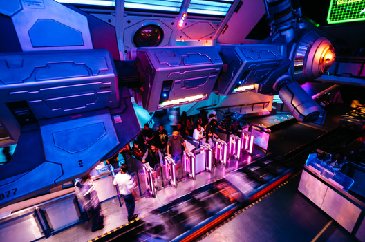 Photo of Hyperspace Mountain at Disneyland taken with a Leica T