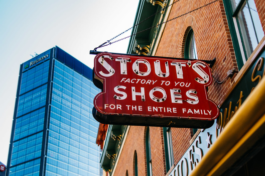Photo of Stouts Shoes in Indianapolis, Indiana taken with Leica T.