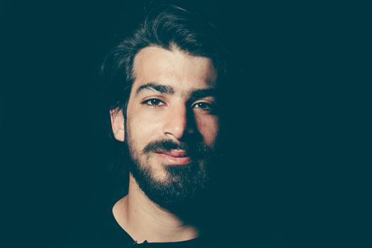 man beard refugee