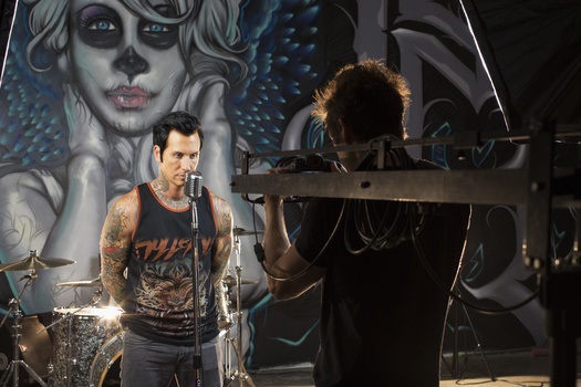 "Lead Singer - Mest ""Anthony Lovato"" Director - ""Jeff Janke"" behind the scenes of ""Almost"" music video"