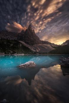 Lake Sorapis by Isabella Tabacchi