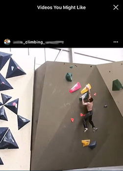Instagram suggested content, videos you might like, freebooting