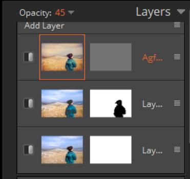 layer panel. photo editing software