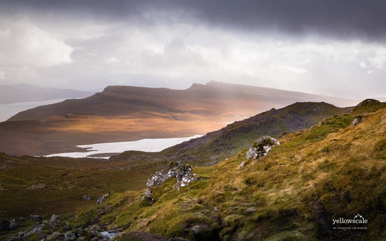 Hike up to the Old Man of Storr on the Isle of Skye, Scotland