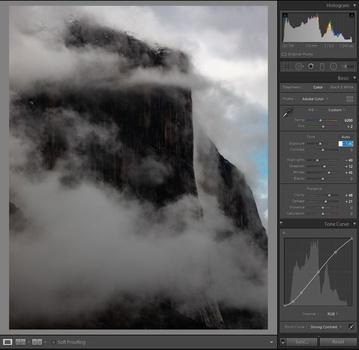 Darkening your photo before filter