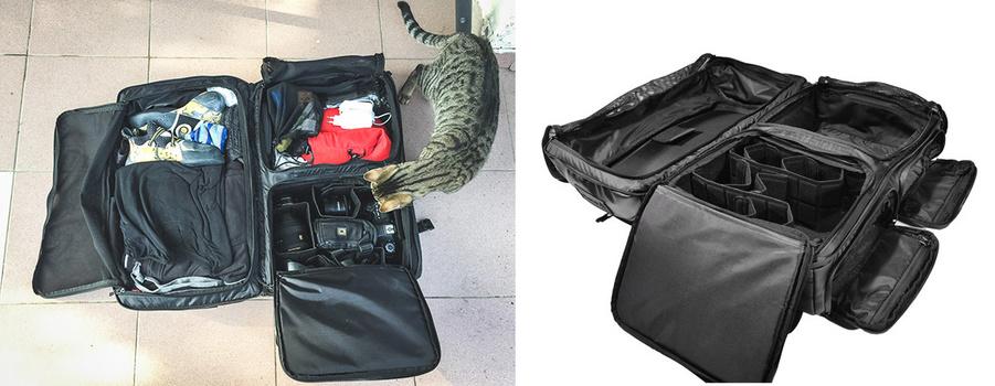 Wandrd Hexad duffel bag, camera bag review