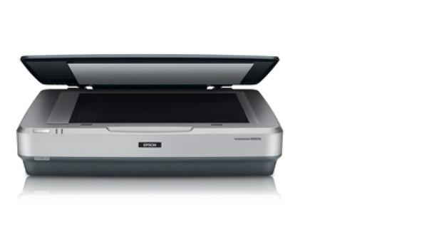 Flatbed scanner, photo scanning