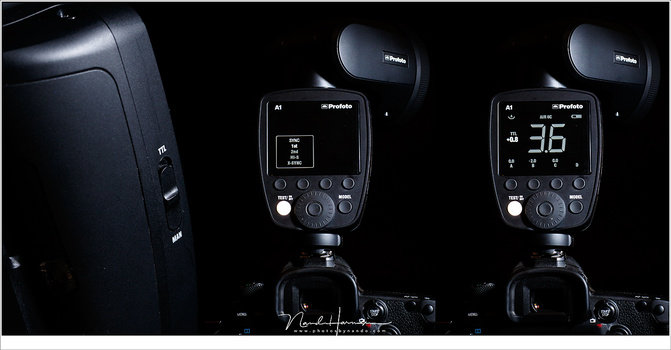 The ridiculous expensive Profoto A1 flashgun. But it works seamingly with the other Profoto flashes. I no longer had to use two separate flash systems. I can even use the A1 as a trigger, if necessary.