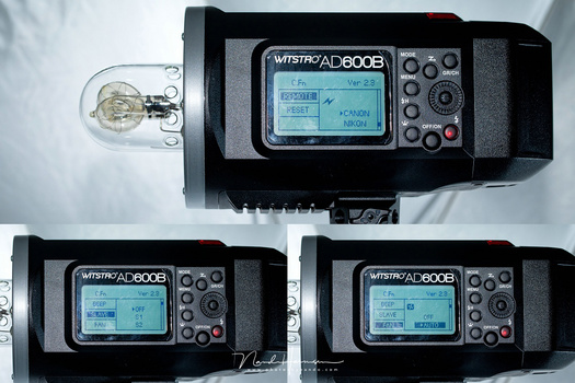 I am used to the simple Profoto menu system that does not need a manual to understand. For Godox the manual is necessary. And the amount of buttons is overwhelming. Besides the basic use, changing options and functionality is quite a challenge on location