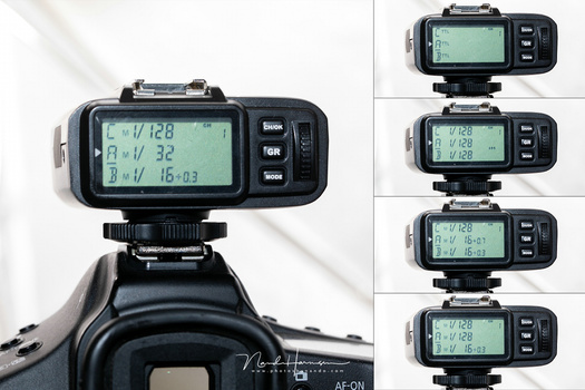 I don't like the remote of Godox. It is a horrible unit and making adjustments is terrible.