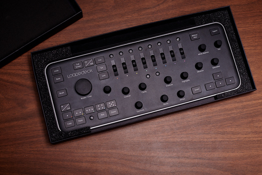 Picture of the Loupedeck Keyboard