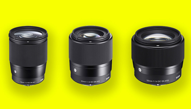 Sigma's newly announced lenses for Canon EF-M.