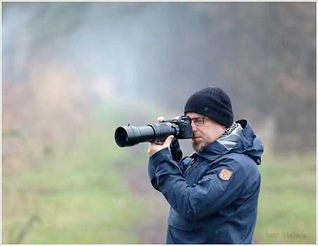 The small sensor of micro 4/3 allow long tele lenses to act like even longer ones. In this example I am using a 100-400mm lens, acting similar to a 200-800mm lens on a full frame. But the size is very handy. (photo by Hetwie (http://www.hetwie.nl))