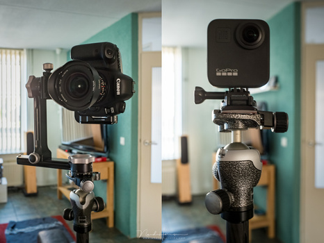 Shooting panoramas with a traditional setup requires a lot of photos and stitching. It can be done within a single shot when using a 360° camera like the GoPro MAX. But how does it compare?