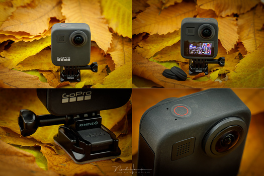 The GoPro MAX looks exactly like... a GoPro.