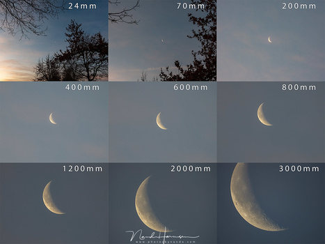 The ability to zoom from 24mm wide angle to an amazing 3000mm is something you have to see to believe. From a landscape photo with a tiny moon, up to a moon to large to fit the screen.
