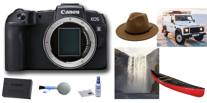 Canon EOS RiP elite influencer bundle