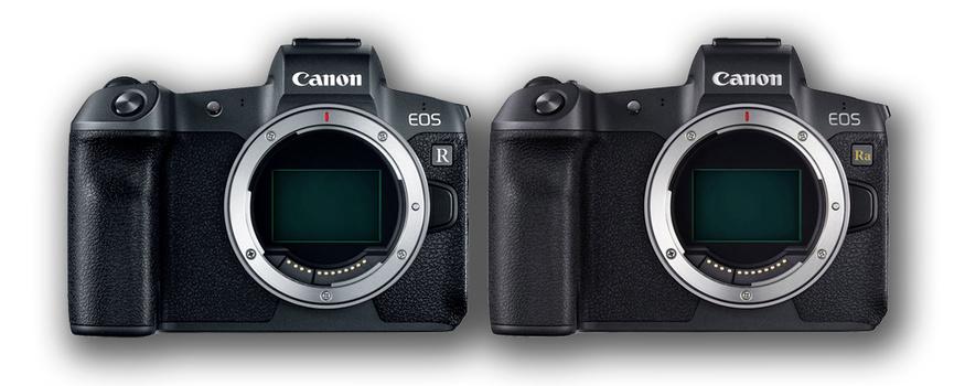 Canon EOS R and the Canon EOS Ra.