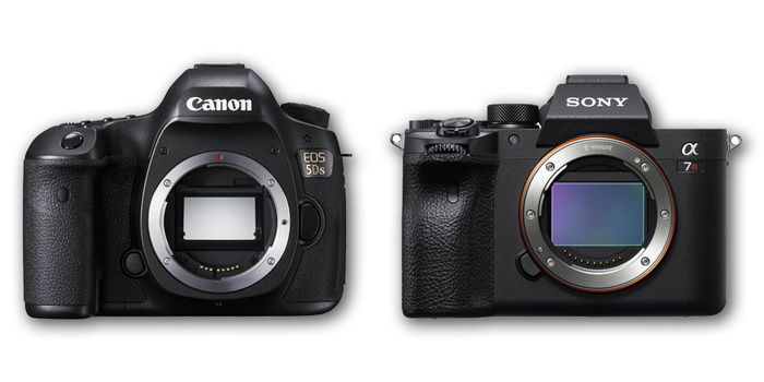 Canon 5DS and Sony a7R IV
