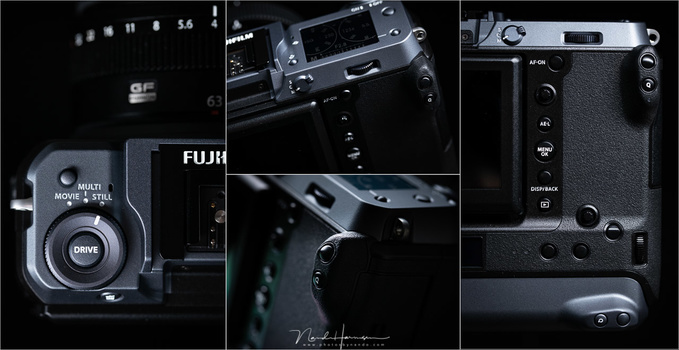 Although the camera is great, Fufifilm could improve a lot concerning buttons and dials. I think this is the biggest weakness of this camera.
