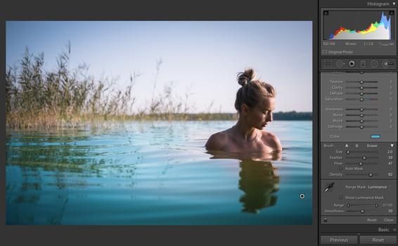 Instagram blue water