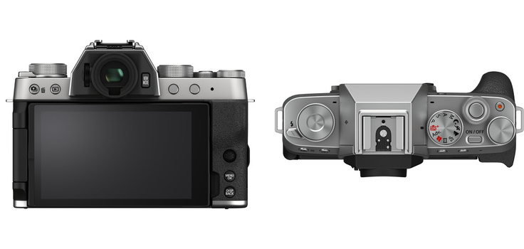 The spartan rear and top plates of the Fujifilm X-T200 don't feature a lot of buttons, but there sure is a lot of screen.