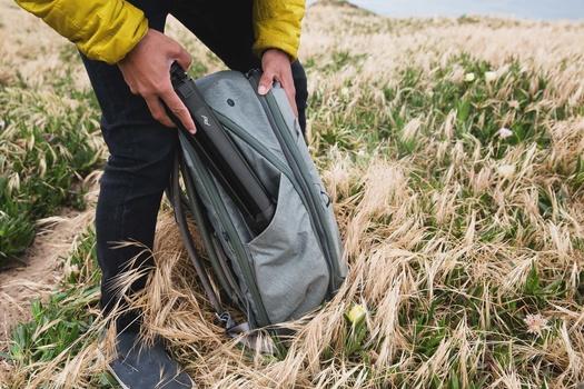 Peak Design Travel Tripod in Bag holder