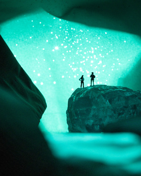 glowing cavern 2 - How Professional Photographers Are Staying Inventive Throughout Lockdown