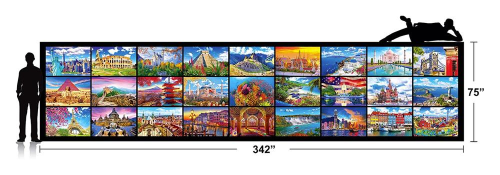 Kodak jigsaw puzzle dimensions