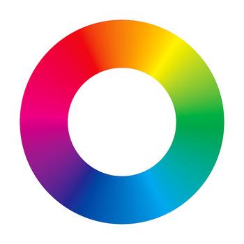 Graduated Color Wheel