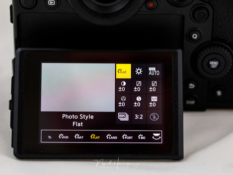 On Panasonic cameras it is called Photo Syle. Just like every other brand of camera, these styles can be customized up to a certain level. This is the menu of the Panasonic DSC-S1 full frame mirrorless camera.