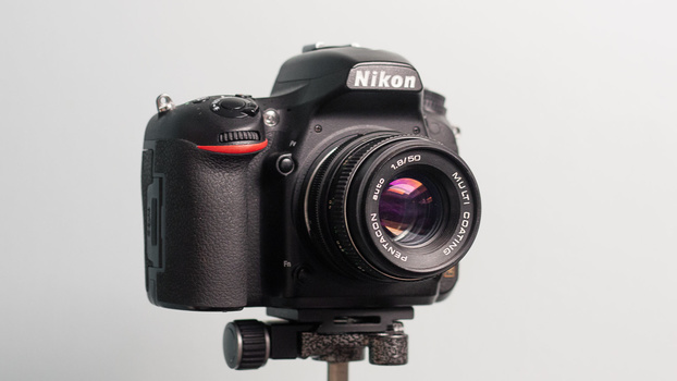 Pentacon 50mm f/1.8 lens