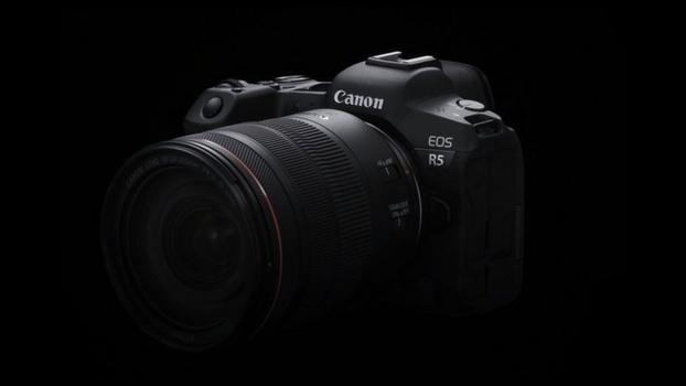Canon EOS R5 resolution photo