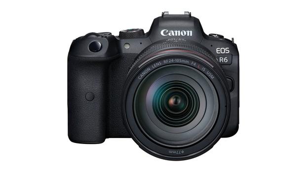 Canon EOS R6 body with lens