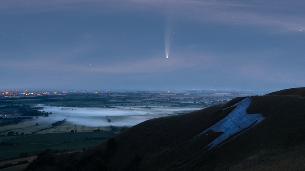 Comet NEOWISE photography by Jason Parnell-Brookes