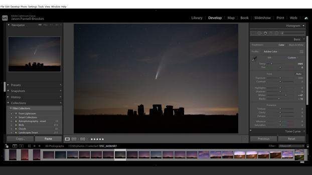Enhance contrast screenshot