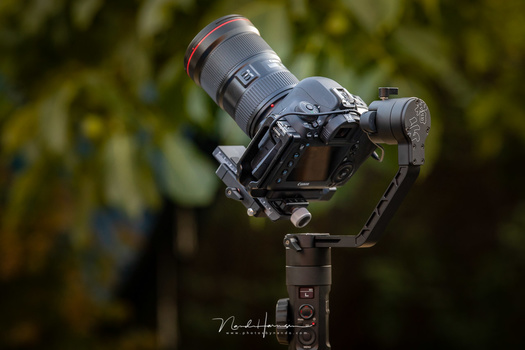When I use a gimbal, I make sure the thing is perfect in balance. It makes filming so much easier. If it takes a few minutes, it will save a lot of time and effort in post-processing.