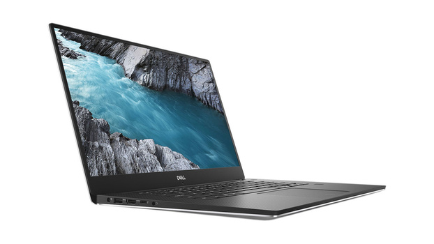 Dell XPS 15 screen view